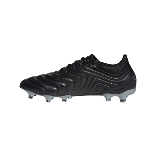 adidas Copa 19.1 Firm Ground Boots - Black/Red/Silver