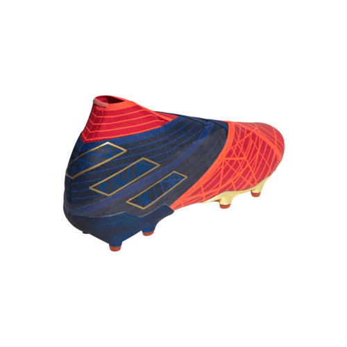 adidas Nemeziz 19+ Firm Ground Boots - Scarlet/Collegiate Navy/Solar Red