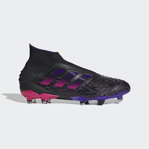 adidas Predator Pogba 19+ Firm Ground Boots - Black/Pink
