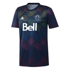 adidas 20/21 MLS Prematch Shirt LGBT