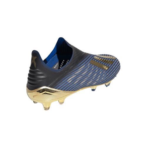 adidas X 19+ Firm Ground Boots - Black/Gold/Blue