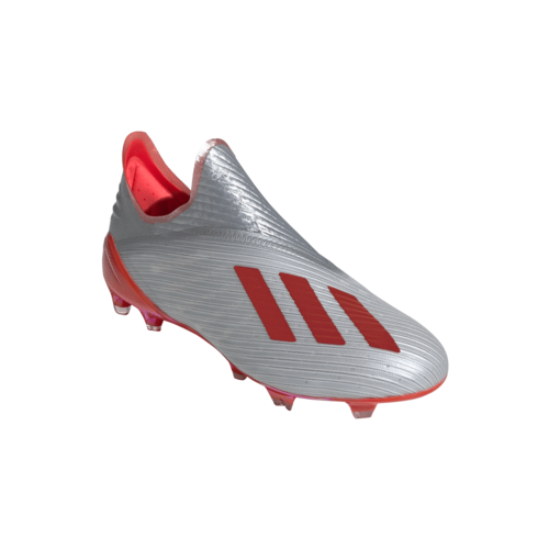 adidas X 19+ Firm Ground Boots - Silver/Red/White