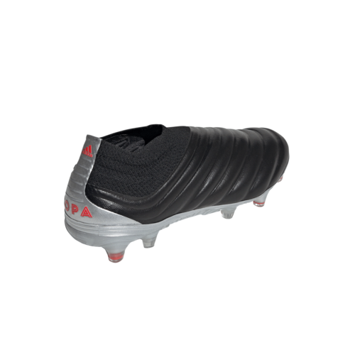 adidas Copa 19+ Firm Ground Boots - Black/Red/Silver