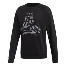 adidas Tango Heavy Graphic Crew Sweatshirt - Black