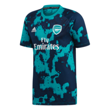 adidas Arsenal FC Pre-Match Jersey - Green/Blue