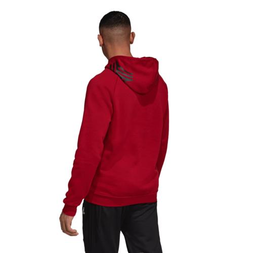 adidas Tango Hooded Sweatshirt - Red