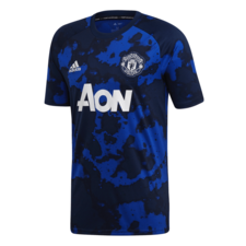adidas Manchester United Pre-Match Jersey - Black/Blue