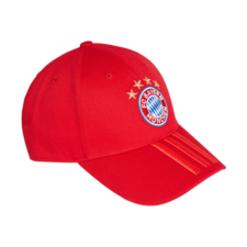 adidas FC Bayern 3-Stripes Cap - Red