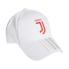 adidas Juventus 3-Stripes Cap - White