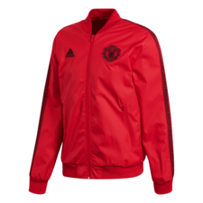adidas Manchester United Anthem Jacket - Red/Black