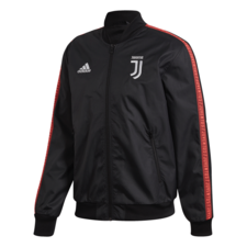 adidas Juventus Anthem Jacket - Black/Red