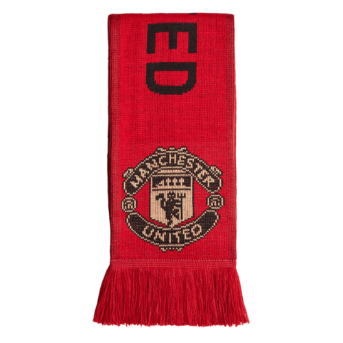 adidas Manchester United Scarf - Red