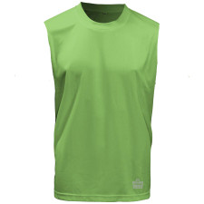 Admiral Performance Sleeveless Tee - Lime