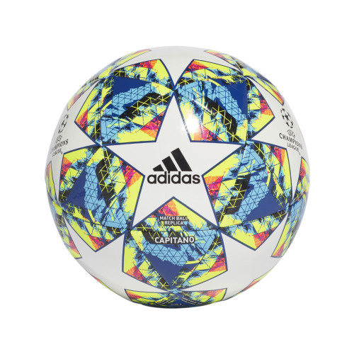 adidas FINALE 19 Capitano Ball - White/Bright Cyan