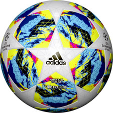 adidas FINALE 19 Top Training Ball - White/Bright Cyan