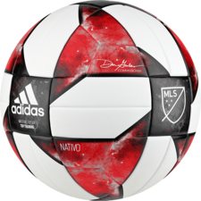adidas MLS NHFS Top Training Ball - White/Black/Red