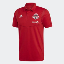 adidas Toronto FC Polo - Red
