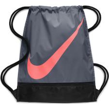 Nike Football Gym Sack - Grey/Black/Red