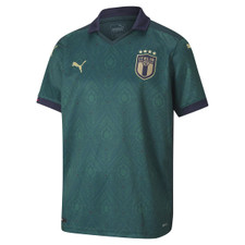 Puma Youth FIGC Renaissance Shirt Replica - Green/Gold