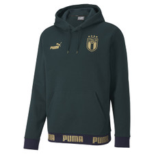 Puma FIGC Football Culture Hoody - Green/Gold