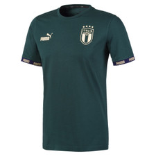 Puma FIGC Football Culture Tee - Green