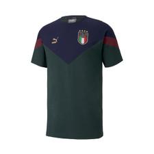 Puma FIGC Iconic MCS Tee - Green