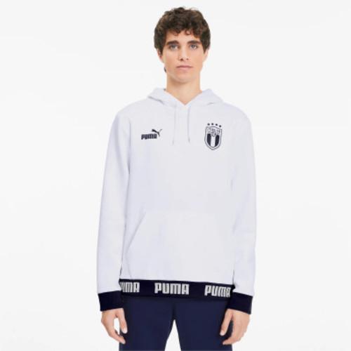 Puma FIGC FtblCulture Hoody - White/Peacoat