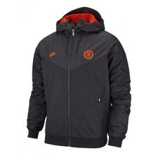 Nike Chelsea FC Windrunner - Black/Orange