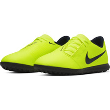 Nike Jr. Phantom Venom Club Artificial Turf Boots - Volt/Obsidian