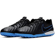Nike Jr. Tiempo Legend 8 Academy Artificial Turf Boots - Black/Blue