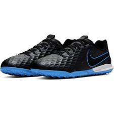 Nike Jr. Tiempo Legend 8 Academy Artificial Turf Boots - Black/Blue