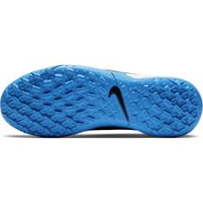 outlet store 032e4 e7d95 Nike Jr. Tiempo Legend 8 Academy Artificial Turf Boots - Black/Blue