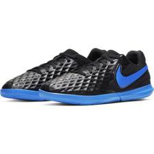 Nike Jr. Legend 8 Club Indoor Boots - Black/Blue