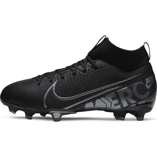 Nike Jr. Superfly 7 Academy Firm Ground Boots - Black/Grey