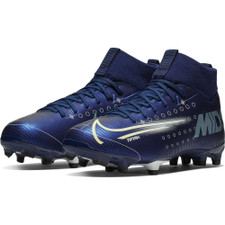 Nike Jr. Superfly 7 Academy MDS Firm Ground Boots - Blue/Volt