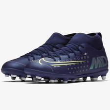 Nike Jr. Superfly 7 Club MDS Firm Ground Boots - Blue/Volt