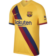 Nike Breathe FC Barcelona 2019/20 Stadium Away - Yellow
