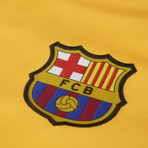 Nike Breathe FC Barcelona 2019/20 Stadium Away - Yellow