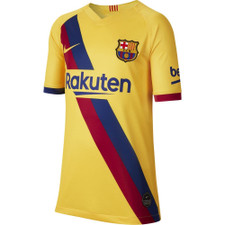 Nike Breathe FC Barcelona Stadium 2019/20 Away Jersey - Yellow