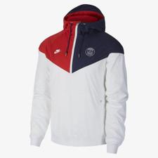 Nike Paris Saint-Germain Windruner - White/Navy/Red