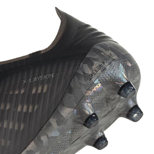 adidas X 19+ Firm Ground Boots - Black/Green
