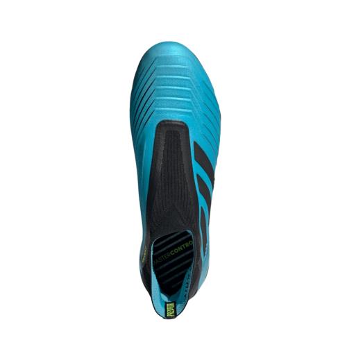 adidas Predator 19+ Firm Ground Boots - Cyan/Black/Yellow