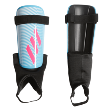adidas X Club Shinguard - Cyan/Pink/Black