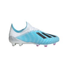 adidas X 19.1 Firm Ground Boots - Cyan/Black/Pink