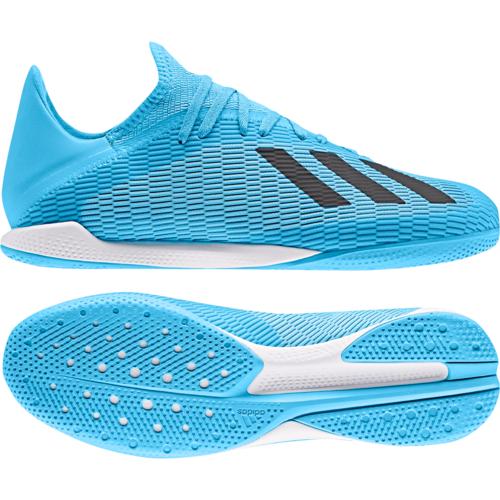 adidas X 19.3 Indoor Boots - Cyan/Black/Pink