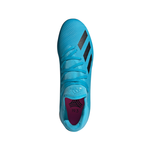 adidas X 19.3 Artificial Turf Boots - Cyan/Black/Pink