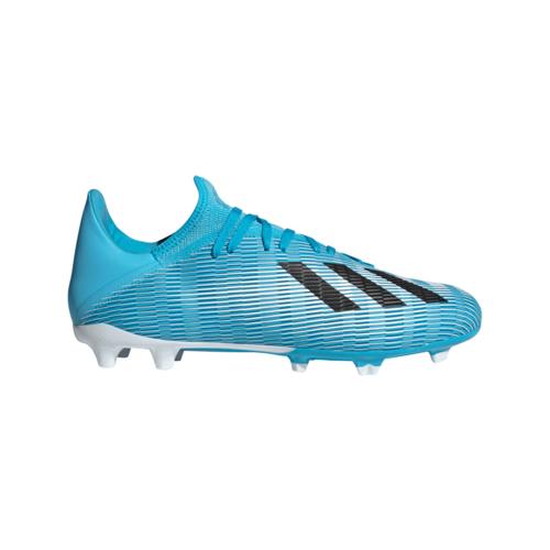 adidas X 19.3 Firm Ground Boots - Cyan/Black/Pink