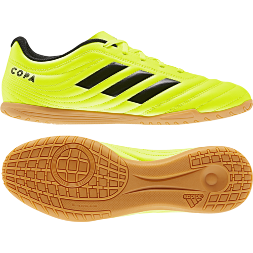 adidas Copa 19.4 Indoor Boots - Yellow/Black