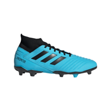 adidas Predator 19.3 Firm Ground Boots - Cyan/Black