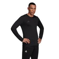 adidas Tango Logo Tee Long Sleeve - Black